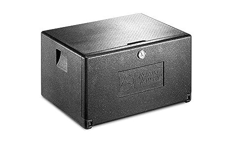 EPP-Thermobox Combi Junior Universal - Caja térmica con compartimentos frontales (68,0 x 49,0 x 40,5 cm, 45,5 L), color negro: Amazon.es: Industria, empresas y ciencia