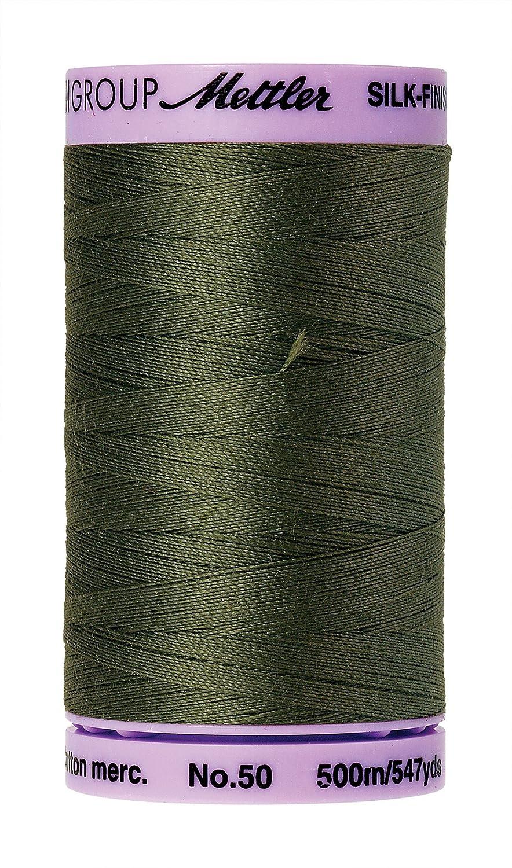 Mettler Silk-Finish Solid Cotton Thread, 547 yd/500m, Burnt Olive by Mettler   B00Q9TJQ4M
