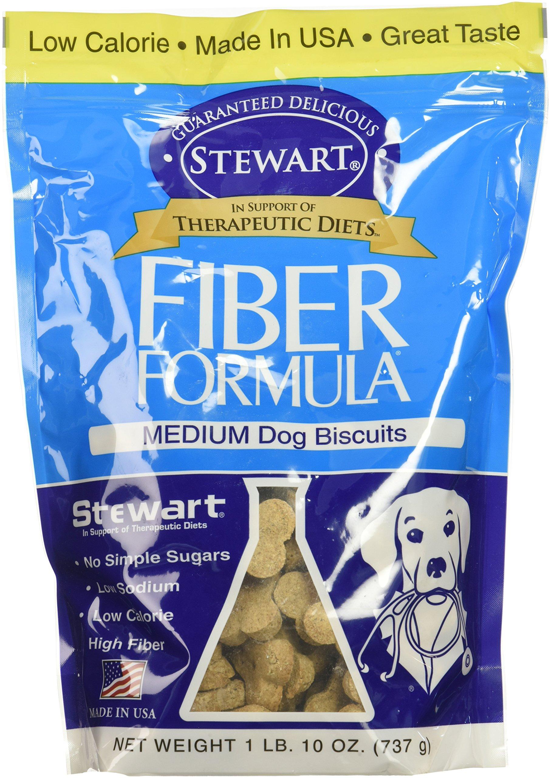 Stewarts Fiber Formula Medium Dog Biscuits - 26 oz.