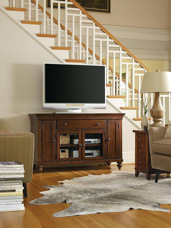 Amazon.com: Hooker Furniture 1037-56401 Wendover 56'' Entertainment  Console, Medium Wood: Kitchen & Dining