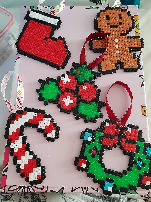 Christmas Hama Beads.Hama Bead Christmas Decorations The Decor Of Christmas