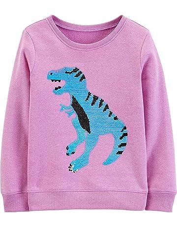 f6eab0772 OshKosh B'Gosh Girls' Sequin Crew Neck Sweatshirt