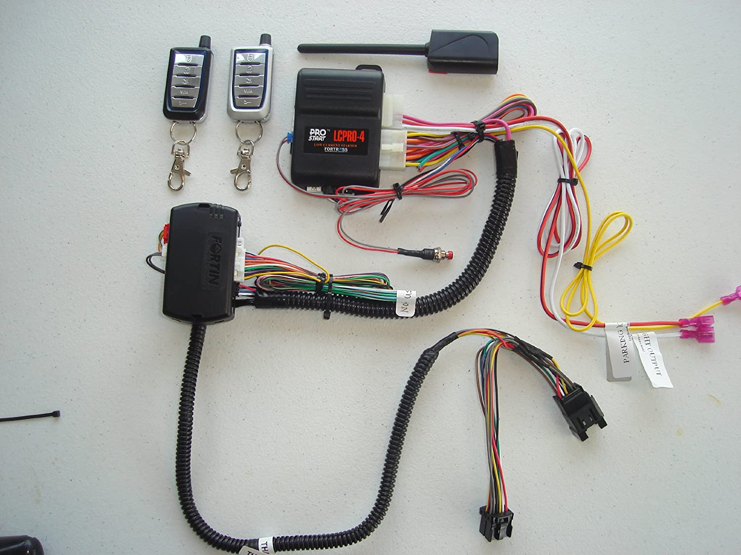 91oj4JAmP5L._SL1500_ amazon com remote starter kit w keyless entry for dodge caravan remote starter wiring harness at soozxer.org