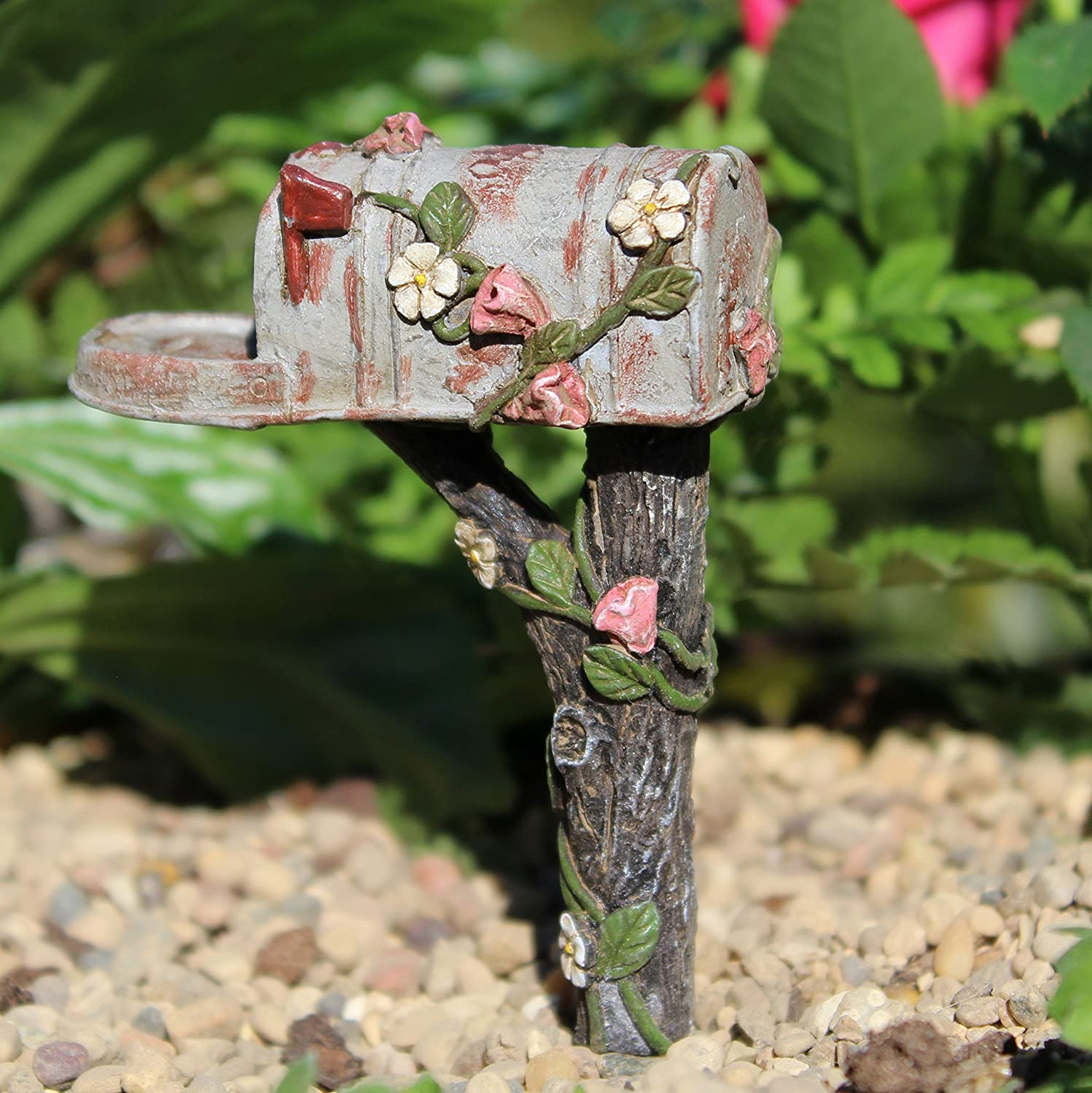 Miniature Fairy Garden Country Mailbox