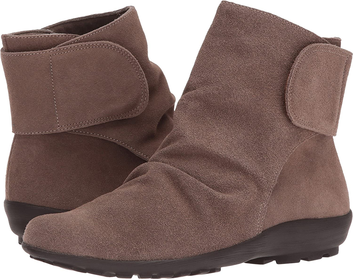 Walking Cradles Women's Harlow Ankle Boot B01N6UCE4S 6 B(M) US|Taupe Max Suede