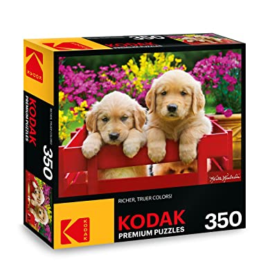 KODAK Premium Puzzles Adorable Puppies Jigsaw Puzzle: Toys & Games