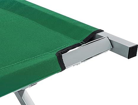 tresko XXL – Cama de camping cama de campaña de 190 x 64 x 44 cm Metal Tubo – Soporta hasta 150 kg – En Diferentes Colores: Amazon.es: Deportes y aire libre