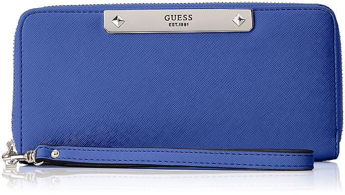 Guess - Swvy6693460, Carteras Mujer, Azul (Blu), 2x10x21 cm (W
