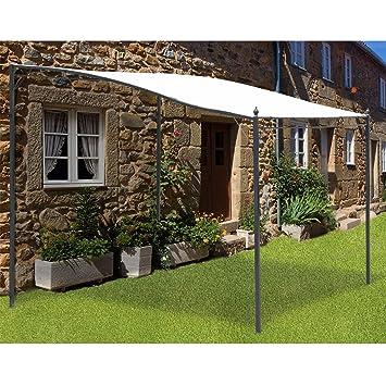 Homcom Pergola tonnelle de jardin toile de haut de qualité 180g ...