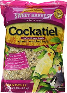 product image for Sweet Harvest Kaylor-Made Cockatiel Food Without Sunflower