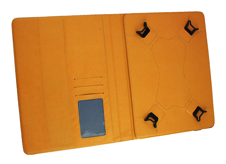 L/ápiz /Óptico 11-12.5 Pulgadas Dark Azul PU Cuero /Ángulo M/últiples Ejecutivo Folio Funda Gris Interior con Ranuras para Tarjetas Emartbuy PIPO K121 Android Tablet PC 12.2 Pulgadas Universal