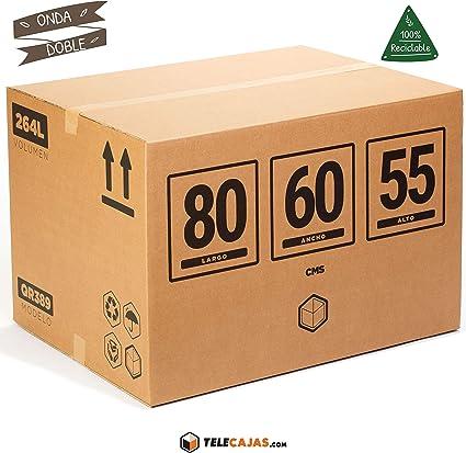 TeleCajas® | Cajas de Cartón Gigantes | Doble Pared REFORZADA ...