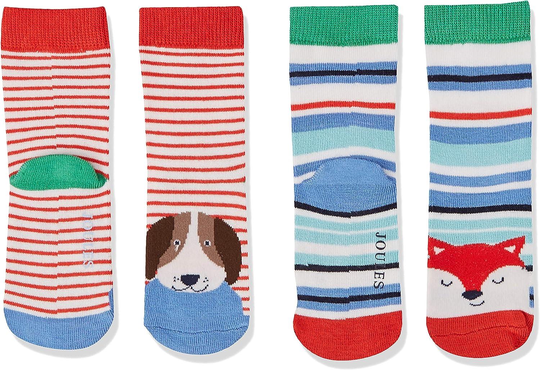 Joules Baby Boys Neat Feet Socks Pack of 2
