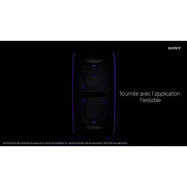 Sony GTK-XB72 Système Audio Portable high Power EXTRA BASS avec jeux de lumières 7