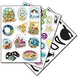 Trunki 01STICKER00 Stickers Trunki, modelli assortiti