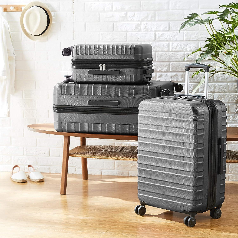 Premium-Hartschalenkoffer Basics blau 56 cm robust
