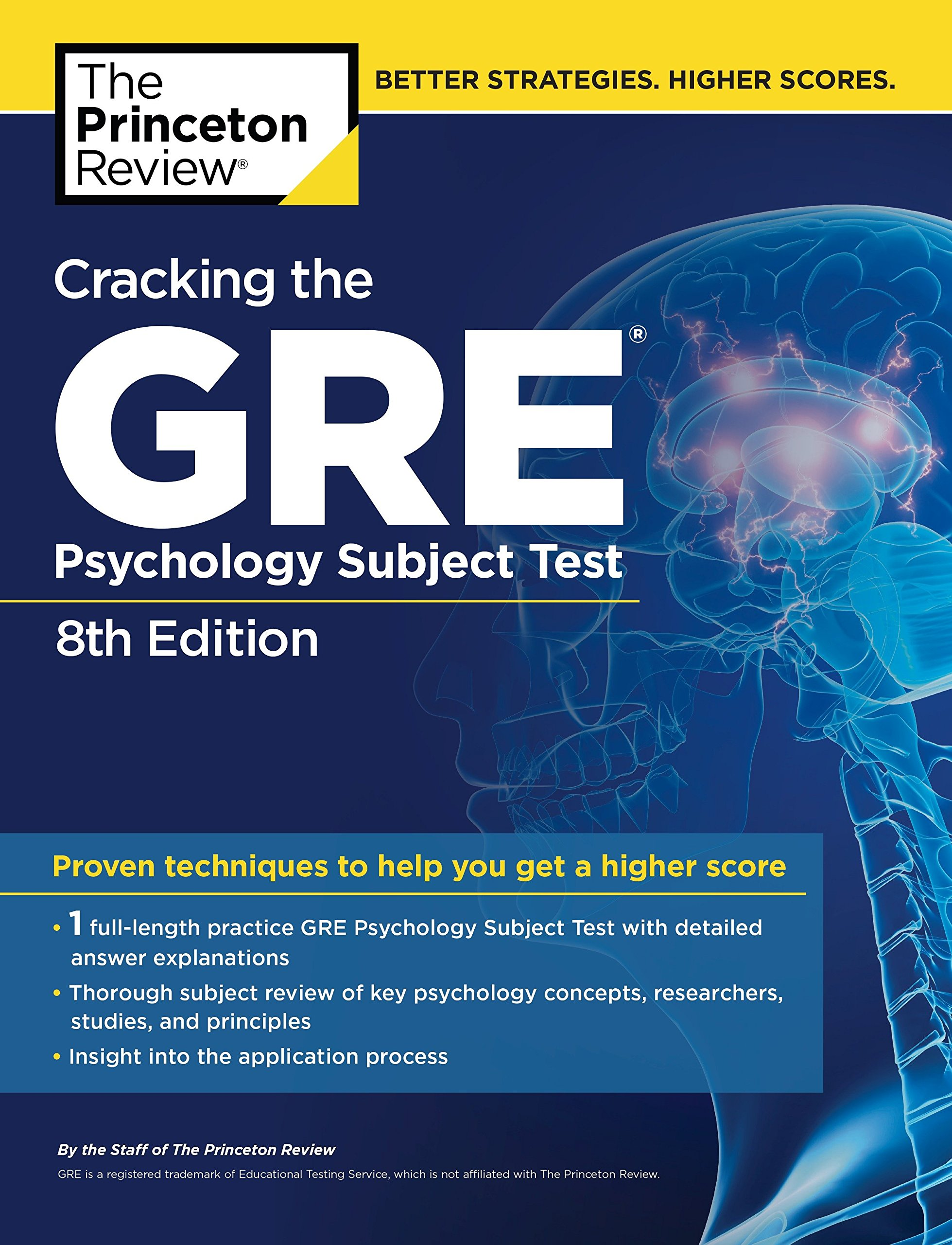 Buy Cracking the GRE Psychology Subject Test, 8th Edition (Graduate School  Test Preparation) Book Online at Low Prices in India | Cracking the GRE ...