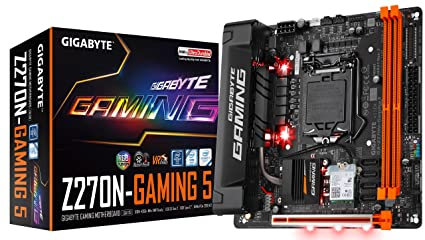Gigabyte LGA1151 Intel Z270 2-Way SLI Micro ATX DDR4 Placas ...