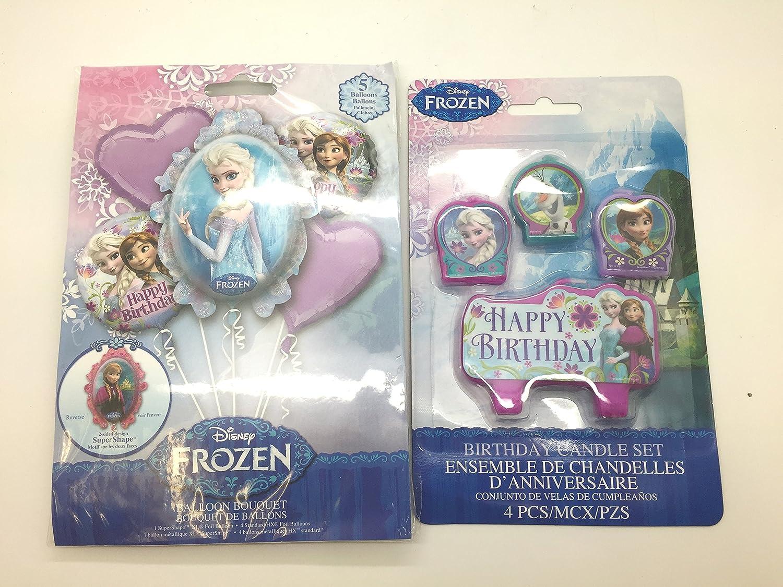 Amazon.com: Disney Frozen Elsa y Anna cumpleaños ramo de ...