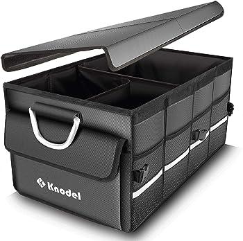 Knodel Sturdy Trunk Heavy Duty Collapsible Organizer Waterproof (Gray)