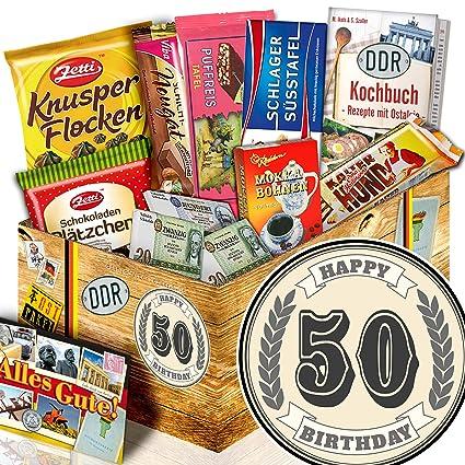 50 Geburtstag Ddr Schoko Box 50 Geburtstag Geschenke Mann