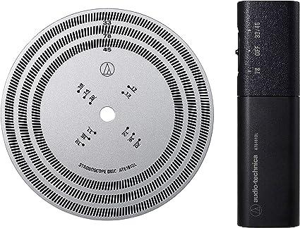 Amazon.com: Audio-Technica AT6181DL - Disco estroboscópico y ...