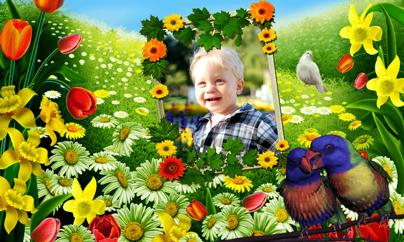 amazon com flower frames photo editor appstore for android