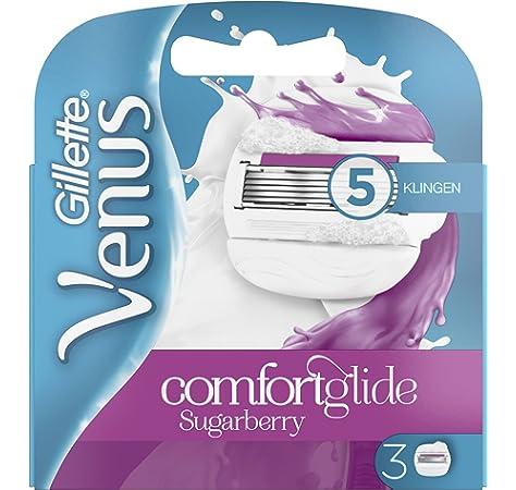 Gillette Venus comfortg Lide Sugar Berry – Cuchillas de afeitar ...