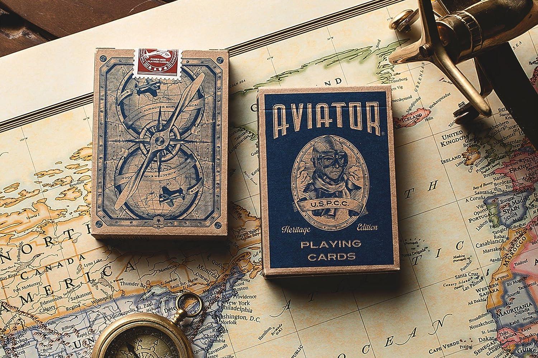 Giocco di carta Aviator Heritage Edition USPCC