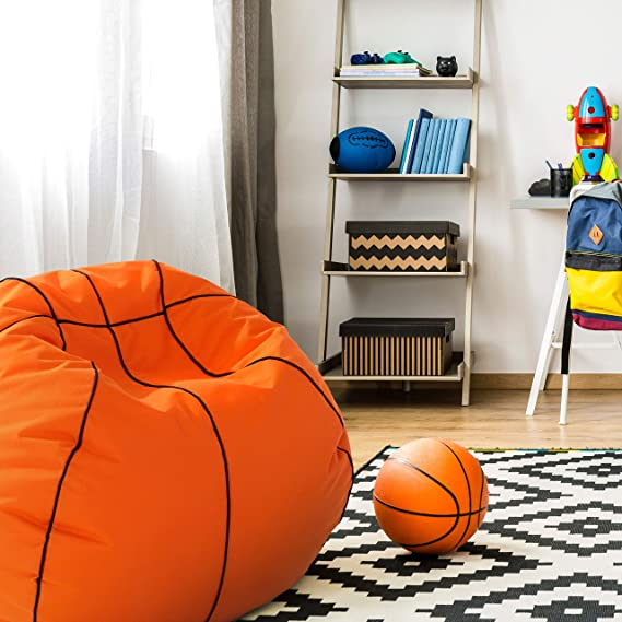 Lumaland Puf Asiento sillón Comfortline pequeño: Amazon.es: Hogar