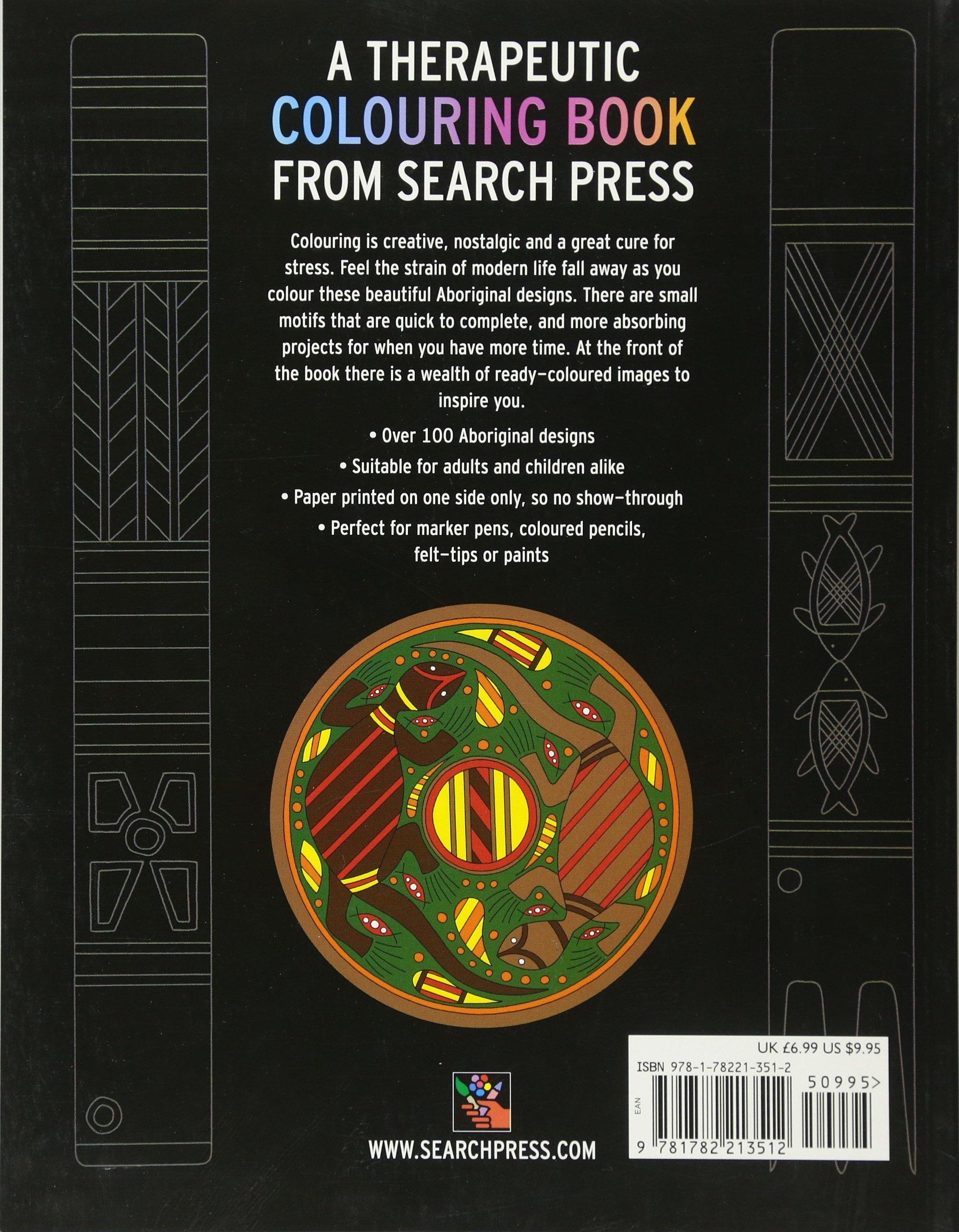 the aboriginal art colouring book search press colouring books