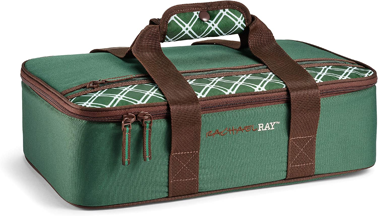 Rachael Ray Lasagna Lugger Insulated Casserole Carrier for Parties, Fits 9