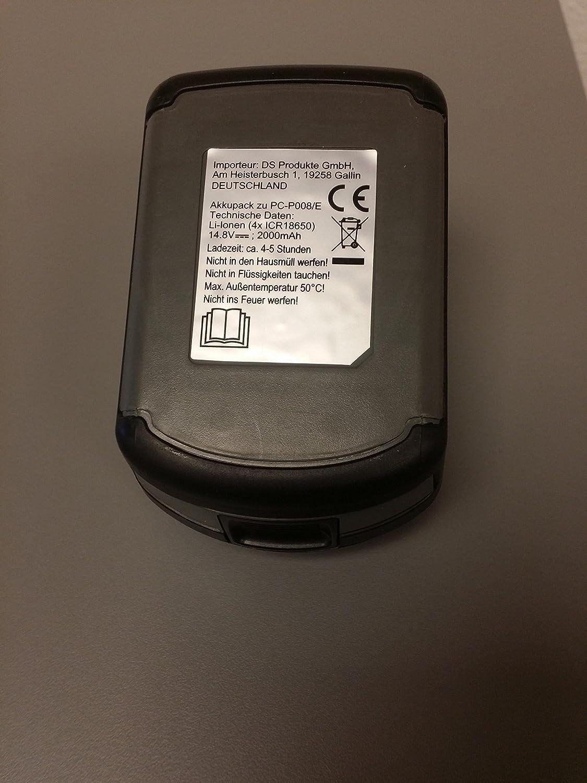 Ionen Ersatz-Akku CLEANMAXX 2000 mAh für Zyklon Staubsauger Handstaubsauger *