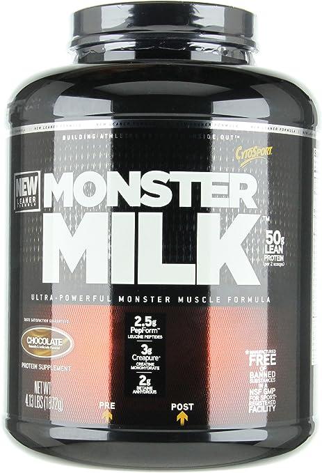 Amazon.com: Cytosport Monster Leche, Chocolate, 4,13 libras ...
