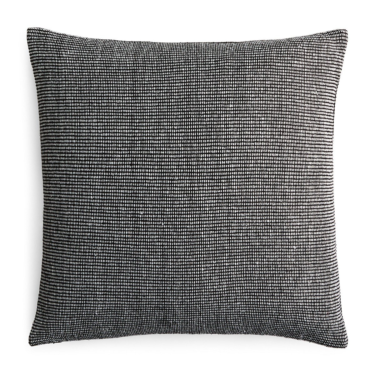 Calvin Klein Home Structure Pillow, 22'' x 22'', Black/White