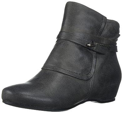 91078f1afc33 BareTraps Women s Bt Sandrina Ankle Bootie Dark Grey 6 US 6 ...