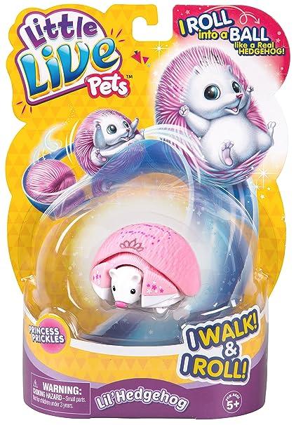 46b3e82c0462 Amazon.com: Little Live Pets Hedgehog - Princess Prickles: Toys & Games