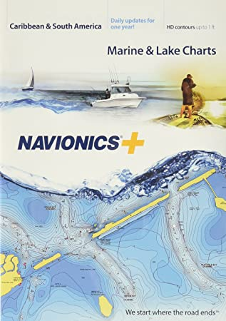 Navionics Caribbean & S. America, Tarjeta SD náutica en Tarjeta SD/Micro-SD – MSD/Nav+3XG: Amazon.es: Electrónica