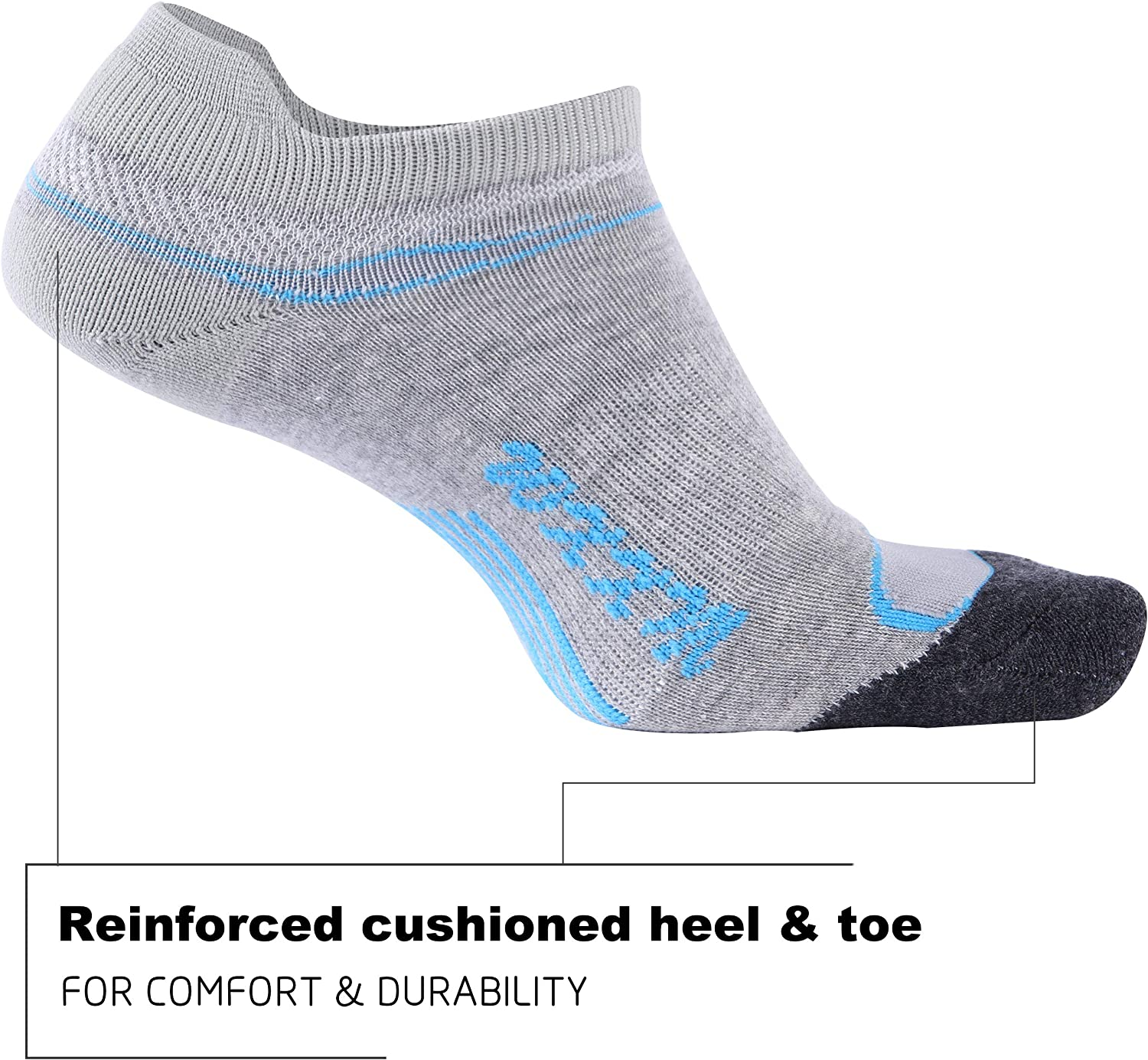 WXXM Low Cut Comfort Cotton Cushioned Performance Walking Tab Socks with Arch Support 1//3//6 Pairs Ankle Running Socks