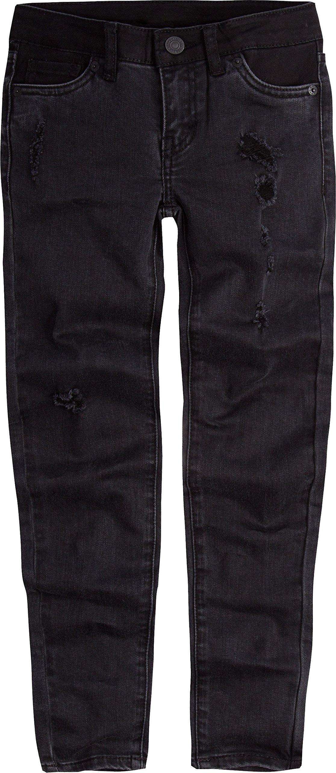 Levi's Girls' Big 710 Super Skinny Fit Jeans, Jet