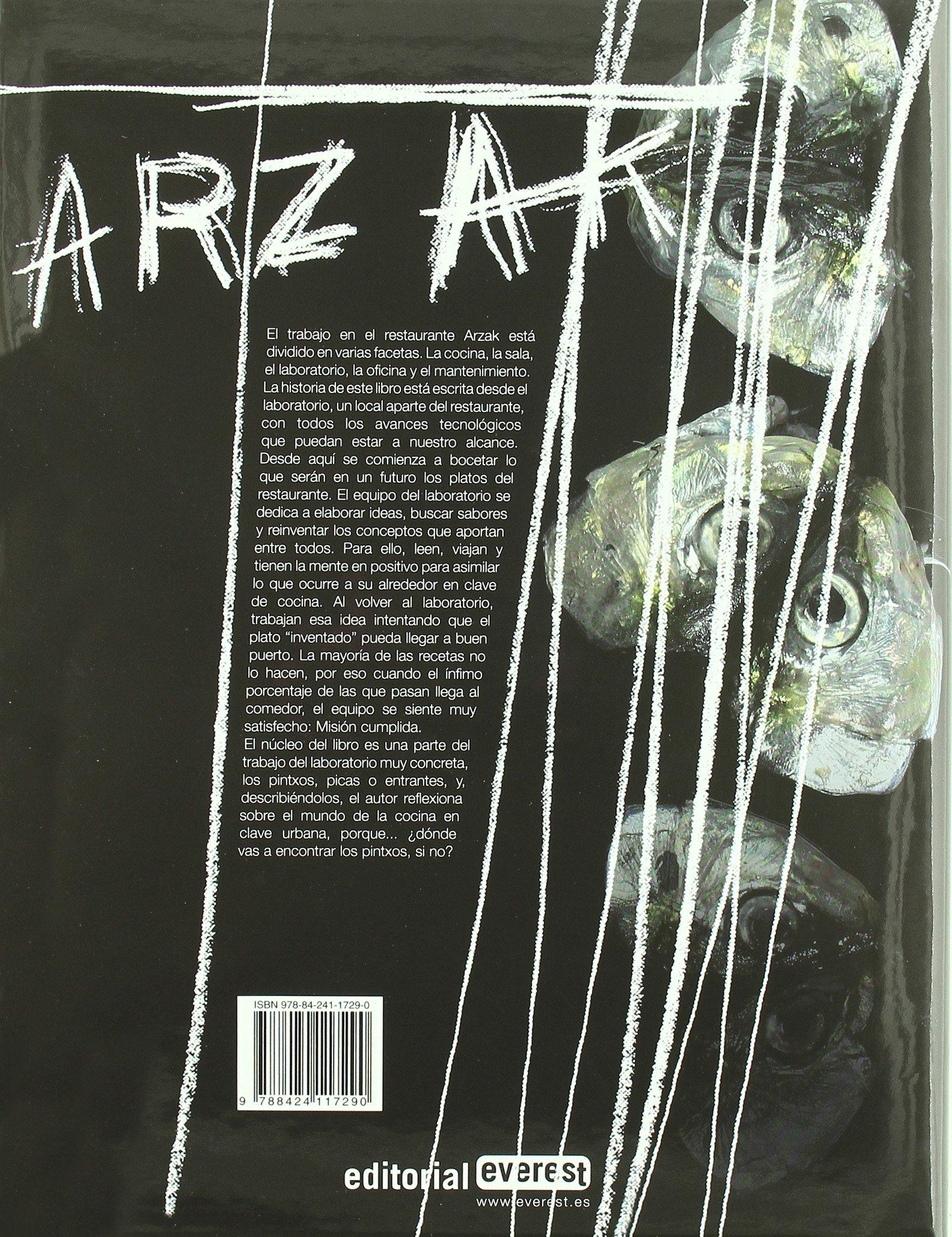 Asfalto Culinario: El Laboratorio de Arzak (Spanish Edition) by Everest De Ediciones Y Distribucion