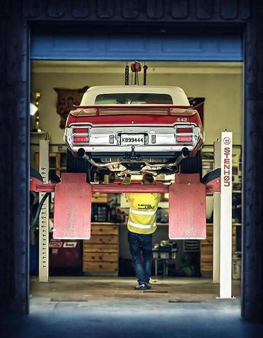Kunst Acrylglas Oldsmobile 442 schnellstes Cabrio 70er Jahre ...