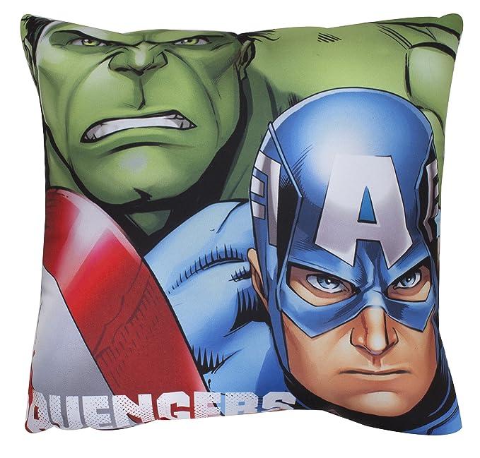Amazon.com: Marvel Avengers Shield – Cojín: Home & Kitchen