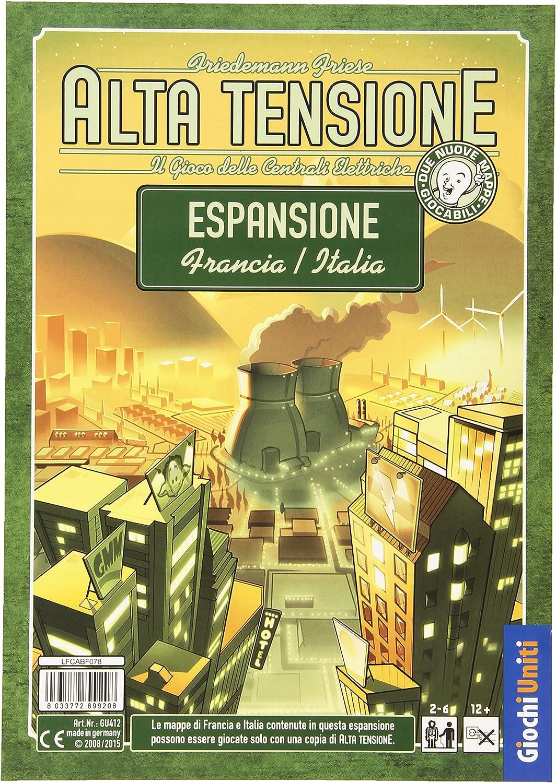 Giochi Uniti – Alta Tensión: Expansión Francia/Italia: Amazon.es: Juguetes y juegos