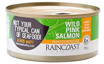 Raincoast Trading Wild Pink Canned Salmon