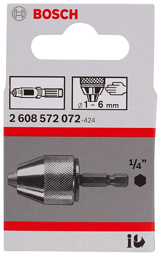 Bosch 6mm HSS Bohrer für IXO mit 1//4 Zoll Aufnahme
