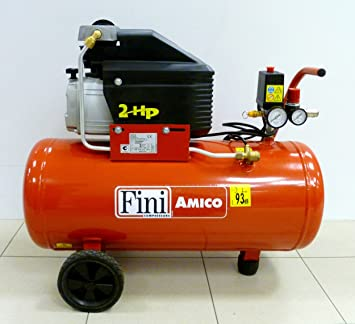 Fini Amico 50/2400 - Compresor de aire de 50 litros: Amazon.es: Bricolaje y herramientas