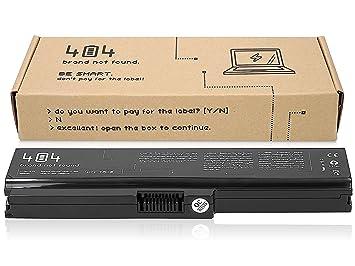 Wessper 404Brand Batería del Ordenador portátil para Toshiba Satellite C660-10D (10.8V, 4400 mAh, Negro): Amazon.es: Electrónica