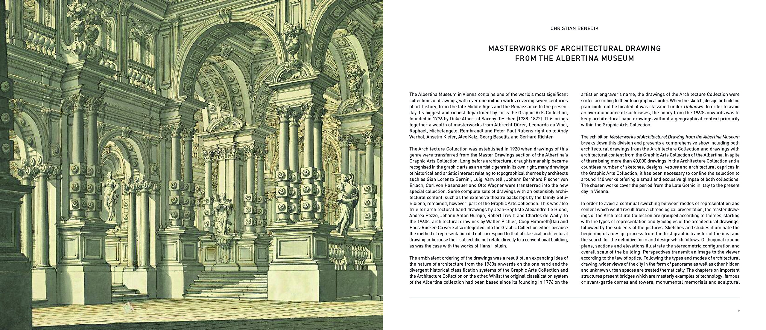 Masterworks Of Architectural Drawing Christian Benedik 9783791357218 Amazon Books