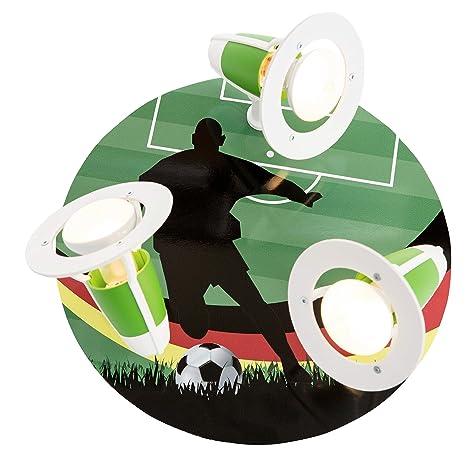 elobra - Lámpara de techo (Copa Mundial Fútbol barnizar, madera ...